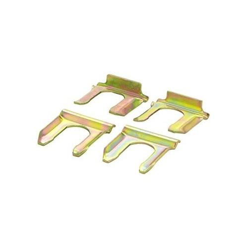 Plaques de maintien pour flexible de frein