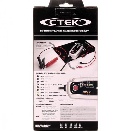 Chargeur de batterie voiture / moto 12V 5A