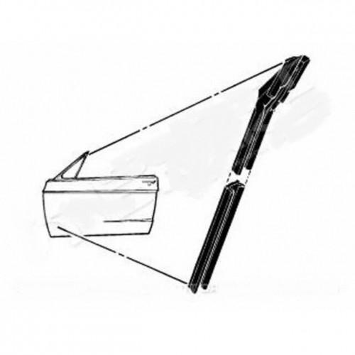 Kit joint de guide / glissière de vitre de portière droite ou gauche