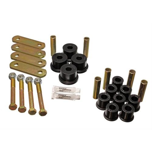 Kit silent blocs de paquet de lames de suspension arrière