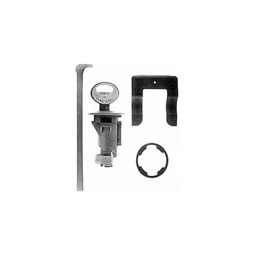 Serrure / barillet de coffre avec 2 clefs