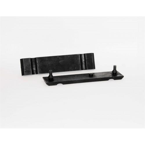 Silent blocs supérieur ou inférieur de fixation de radiateur