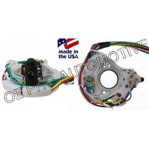 Contacteur / interrupteur de clignotant avec faisceau